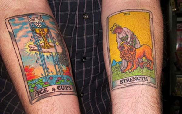 Le tarot jusque dans la peau Tattoo10