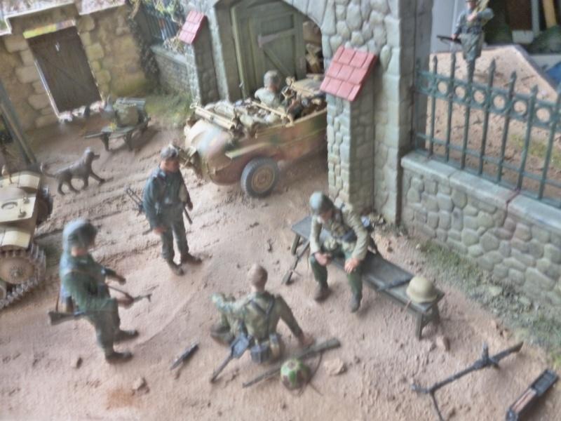 21ème PANZER DIVISION le 05/06/1944 --> diorama terminé P1000612