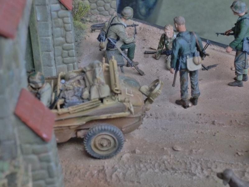 21ème PANZER DIVISION le 05/06/1944 --> diorama terminé P1000614