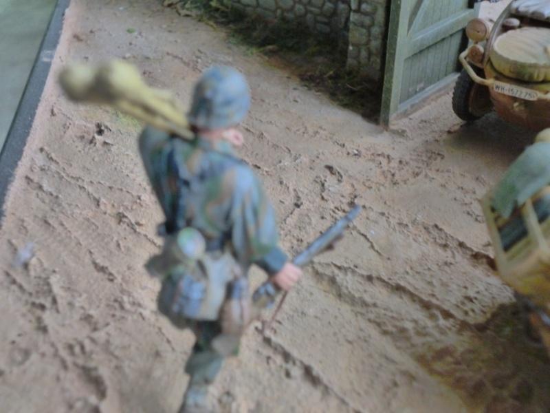 21ème PANZER DIVISION le 05/06/1944 --> diorama terminé P1000616