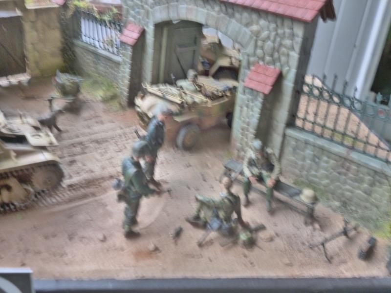 21ème PANZER DIVISION le 05/06/1944 --> diorama terminé P1000617