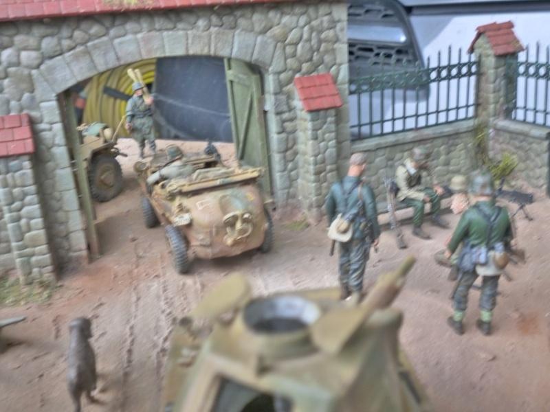 21ème PANZER DIVISION le 05/06/1944 --> diorama terminé P1000619