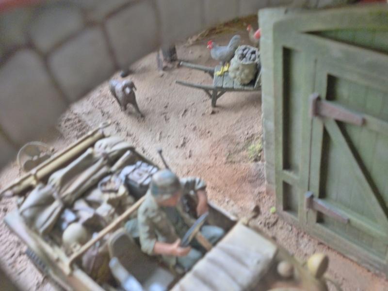 21ème PANZER DIVISION le 05/06/1944 --> diorama terminé P1000621