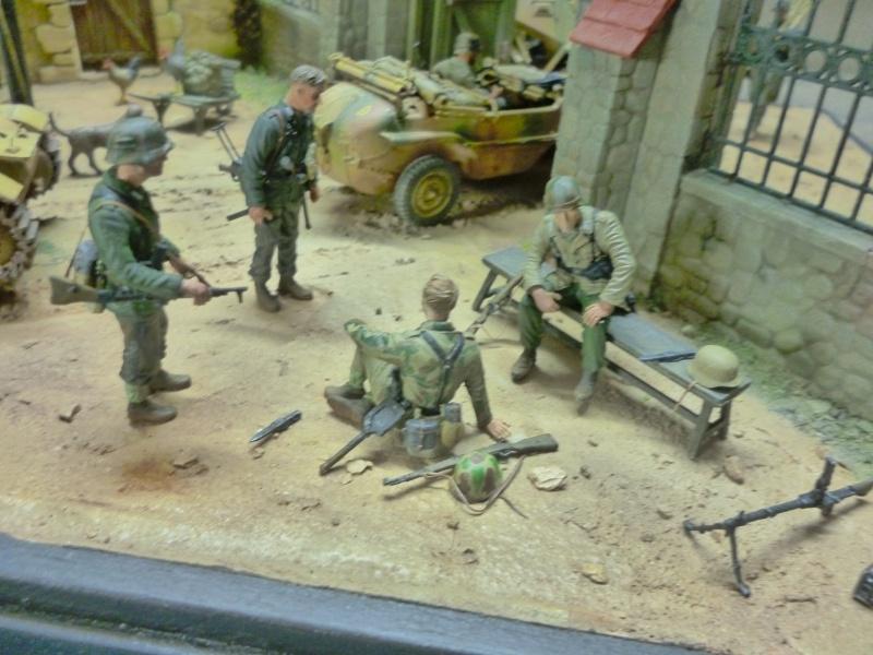 21ème PANZER DIVISION le 05/06/1944 --> diorama terminé P1000624