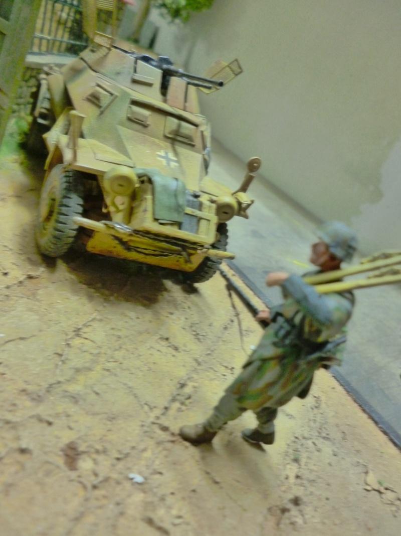 21ème PANZER DIVISION le 05/06/1944 --> diorama terminé P1000625