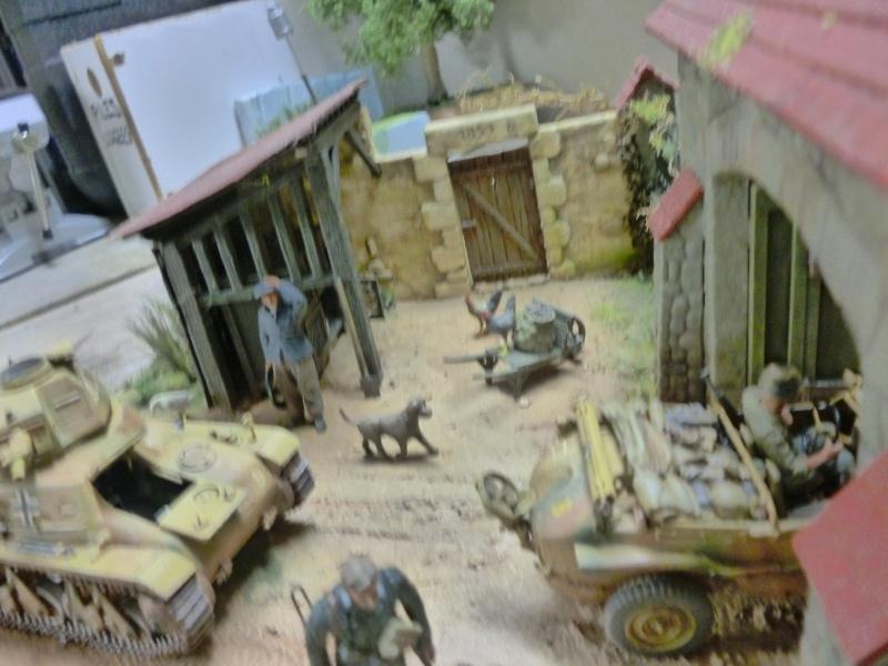 21ème PANZER DIVISION le 05/06/1944 --> diorama terminé P1000626