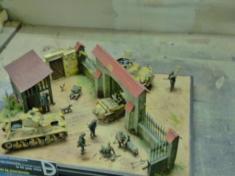 21ème PANZER DIVISION le 05/06/1944 --> diorama terminé P1000628