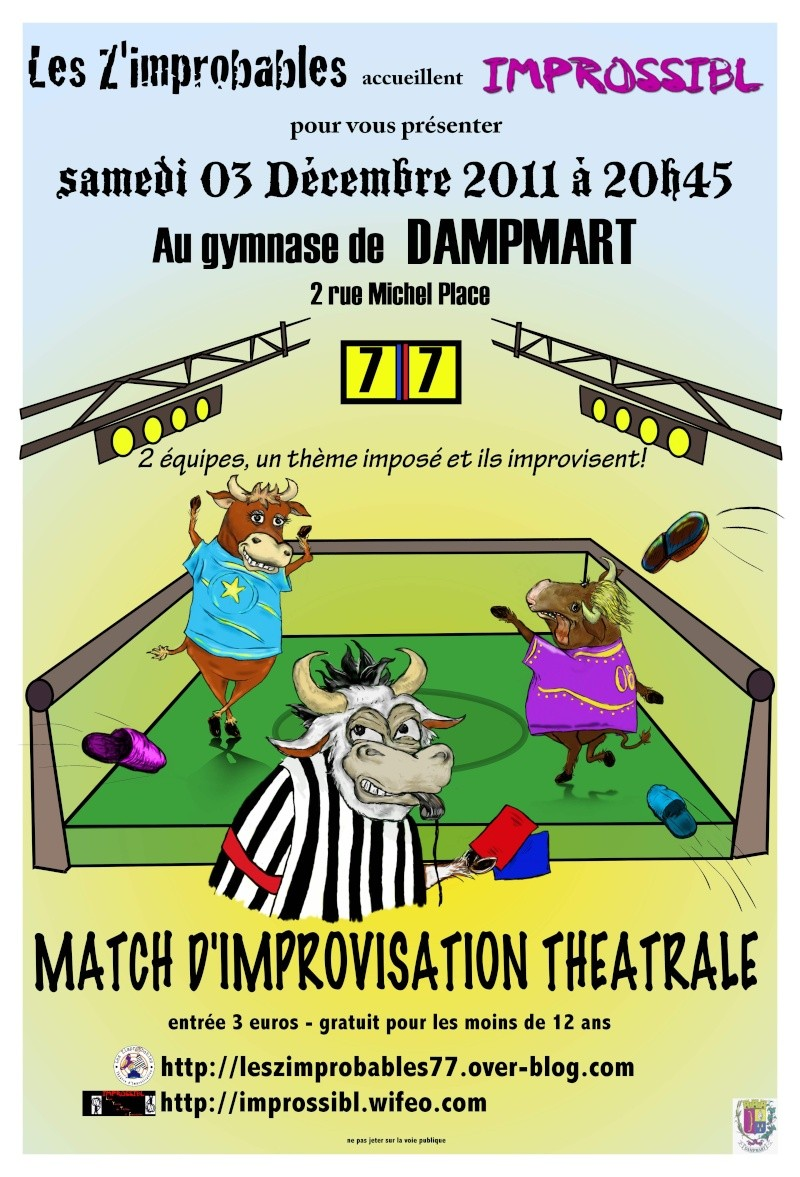 Z'improbables invitent et reçoivent Improssibl' le samedi 3 décembre 2011 Dampma10