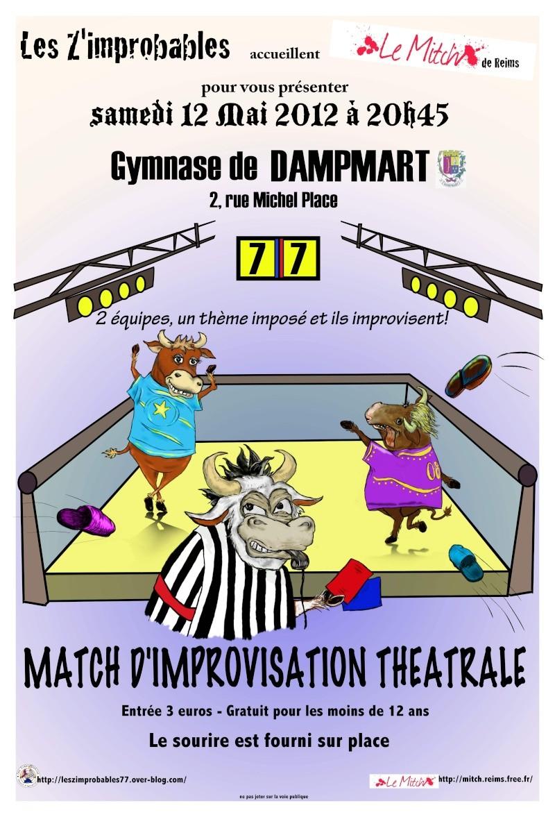 Samedi 12 mai, match avec en invité le MITCH (Reims) Dampma12