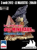 Conférence sur les collections minéralogiques. Affich10