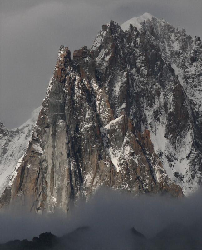 Eboulements et autres glissements dans la vallée Drus-110
