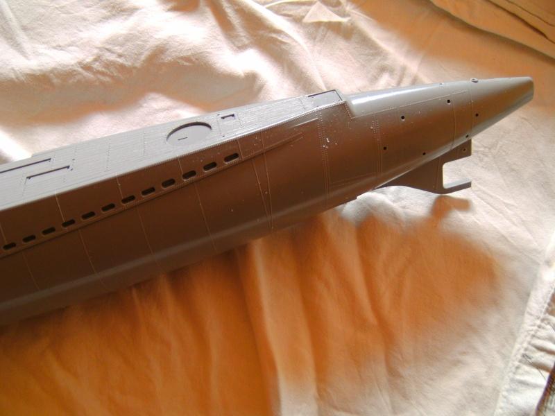 Japanisches U-Boot I-53 & Kaitens Maßstab 1 : 72 von Lindberg Pict0162