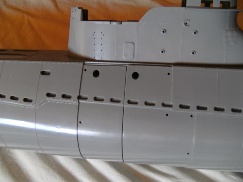 Japanisches U-Boot I-53 & Kaitens Maßstab 1 : 72 von Lindberg Pict0168