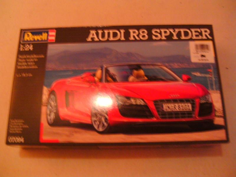 Audi R8 Spyder 1 : 24 von Revell Pict0273
