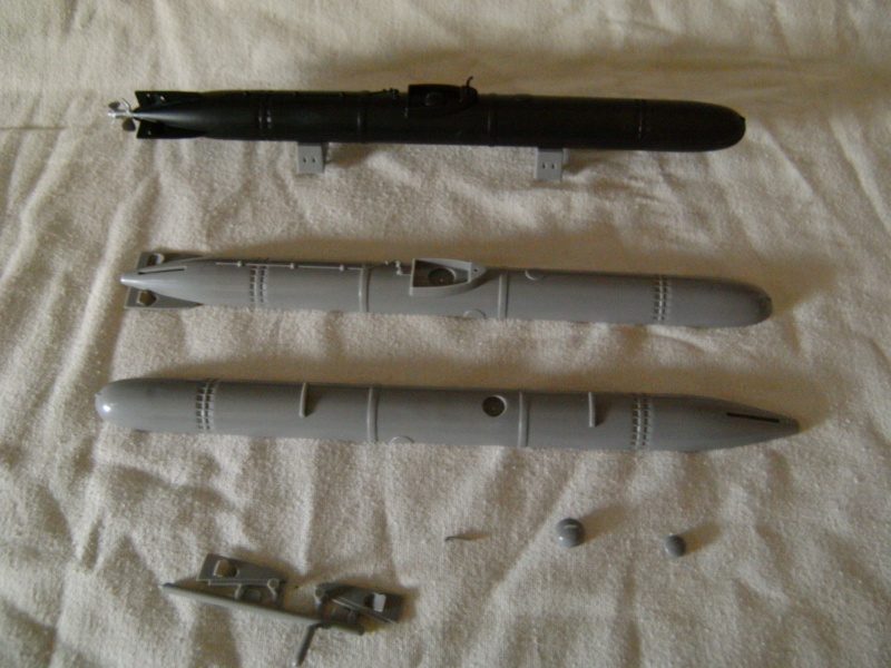 Japanisches U-Boot I-53 & Kaitens Maßstab 1 : 72 von Lindberg - Seite 2 Pict4217