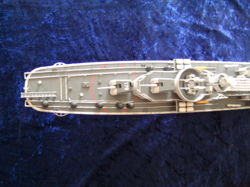 """Zerstörer 5"" D179 von Revell in 1 : 144 Pict4522"