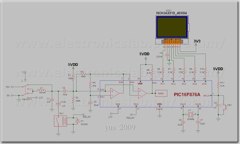 LC Meter com PIC16F628A - Página 2 Diagra10