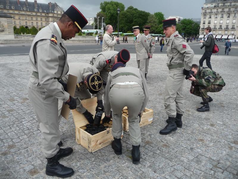 cérémonie d'investiture 15 mai 2012 le son du canon P1040522