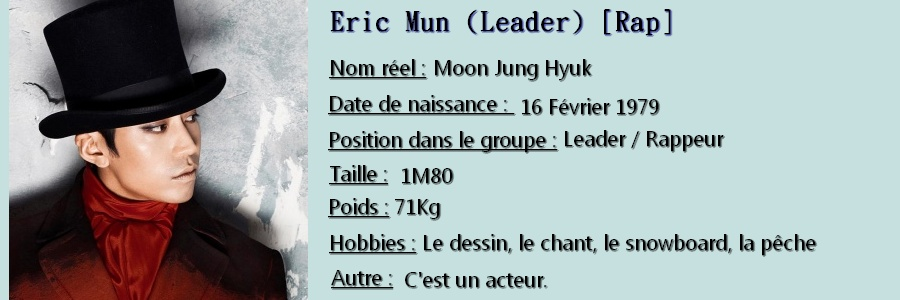 (Présentation) Shinhwa ( 신화 ) Eric_b11