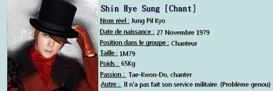 (Présentation) Shinhwa ( 신화 ) Hye_su11