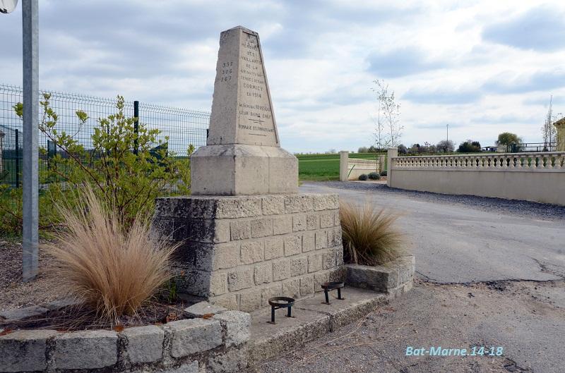Monument à la 69e Division d'Infanterie à Cormicy (51) 115