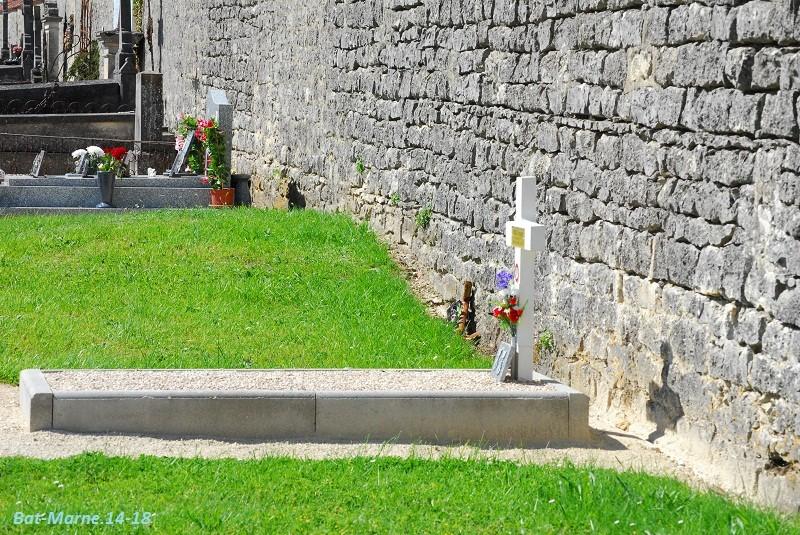 Le cimetière communal de Cormicy (51)  1e partie 1314
