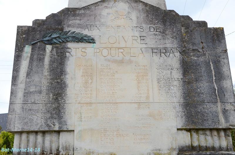 Le Monument aux Morts de Loivre 1412