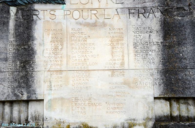 Le Monument aux Morts de Loivre 1513