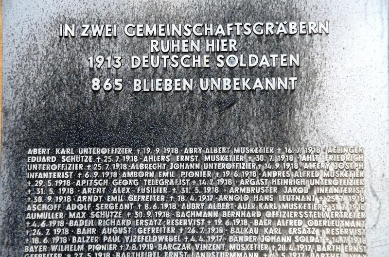 Cimetière Allemand de LOIVRE 1810
