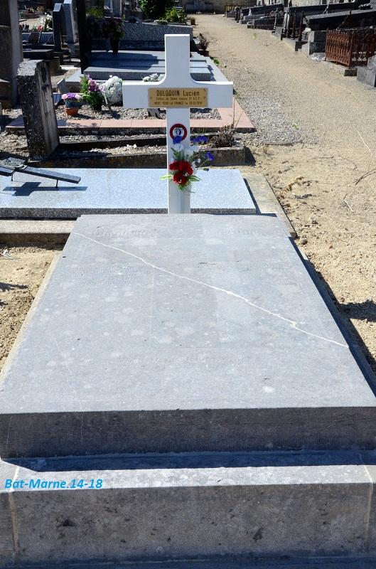 Le cimetière communal de Cormicy (51)  1e partie 1913