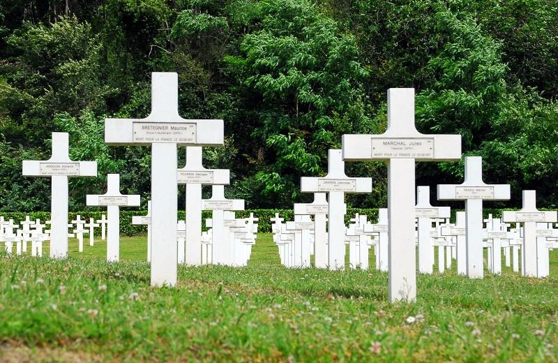 la Nécropole Nationale d'Oeuilly (02) - 1ère partie 1915