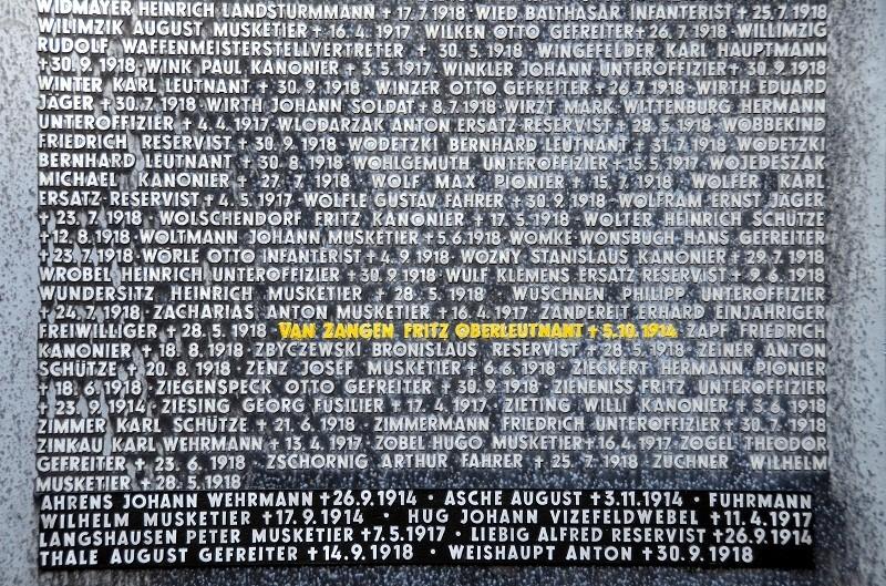 Cimetière Allemand de LOIVRE 2010
