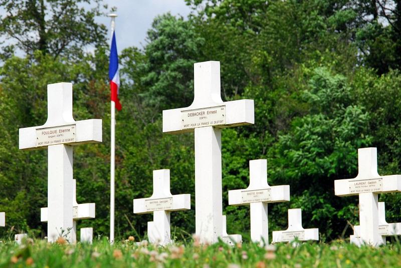 la Nécropole Nationale d'Oeuilly (02) - 1ère partie 2015