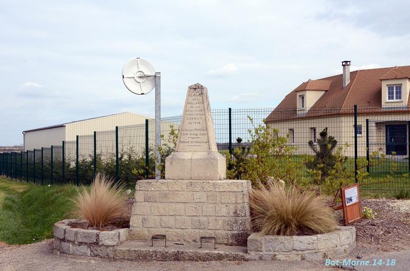 Monument à la 69e Division d'Infanterie à Cormicy (51) 218