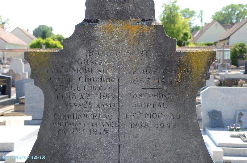 Le cimetière communal de Cormicy (51)  1e partie 2212