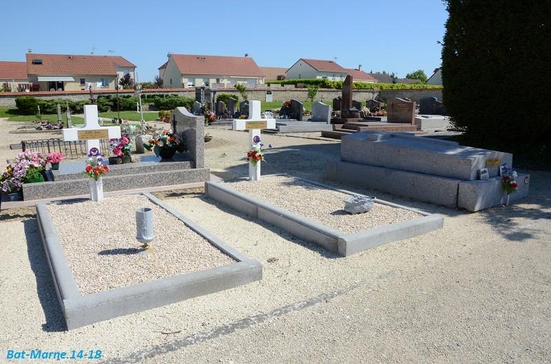 Le cimetière communal de Cormicy (51)  2e partie 2611
