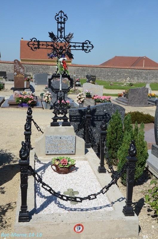 Le cimetière communal de Cormicy (51)  1e partie 3710