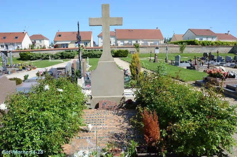 Le cimetière communal de Cormicy (51)  2e partie 3910