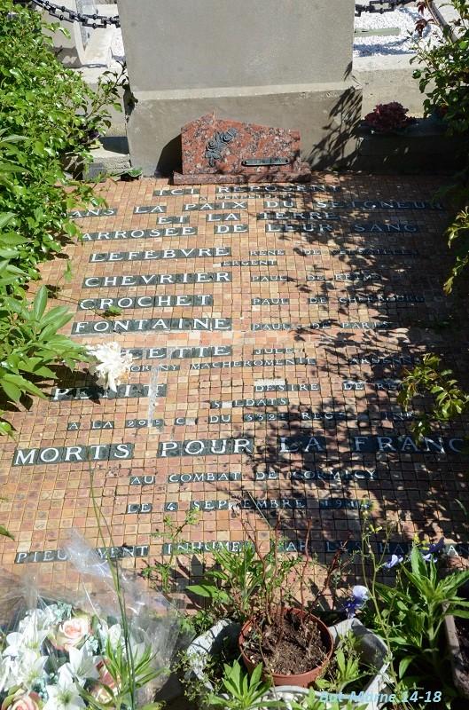 Le cimetière communal de Cormicy (51)  2e partie 4010