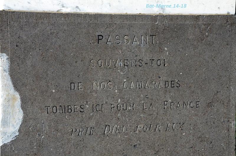 Le Monument au 35e R.I. à Berméricourt (51) 41410