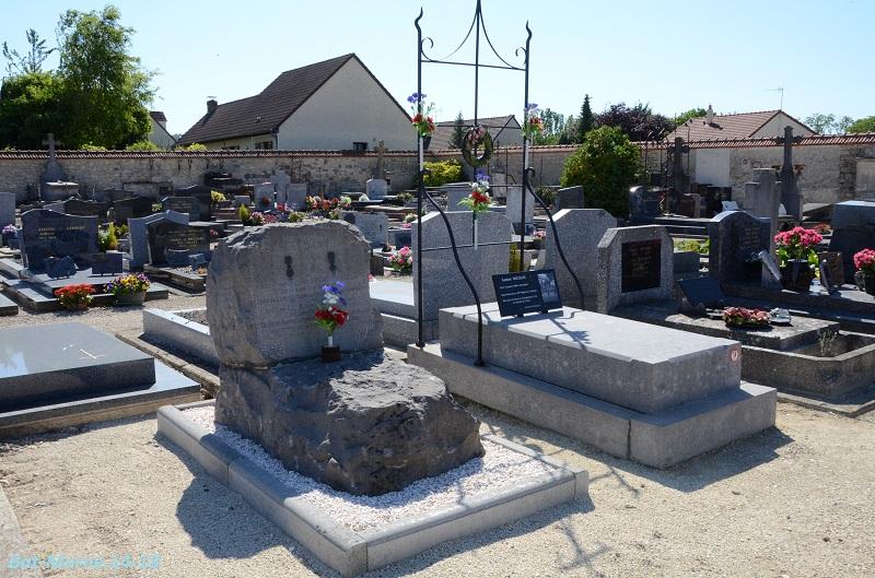 Le cimetière communal de Cormicy (51)  2e partie 4510