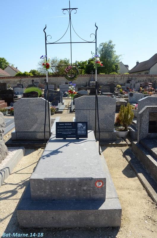 Le cimetière communal de Cormicy (51)  2e partie 48_11