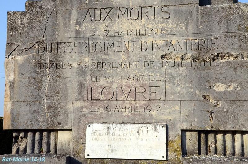 Le Monument aux Morts de Loivre 617