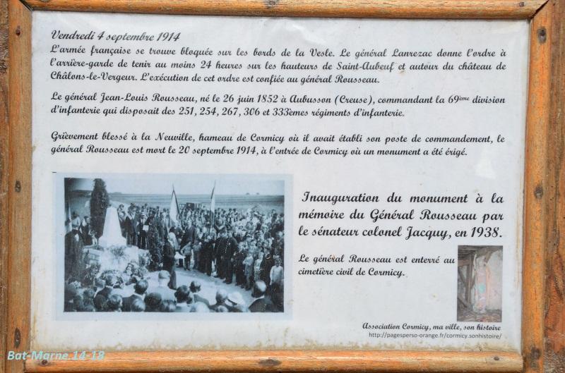 Monument à la 69e Division d'Infanterie à Cormicy (51) 814