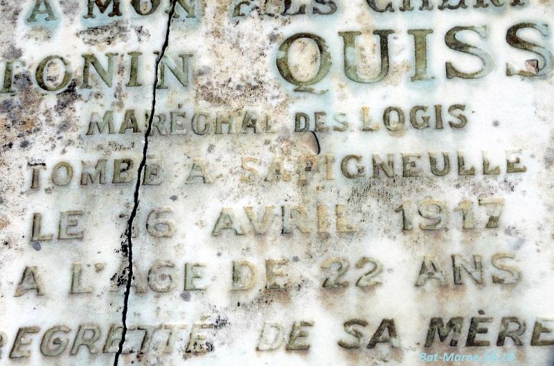 Le cimetière communal de Cormicy (51)  1e partie 916