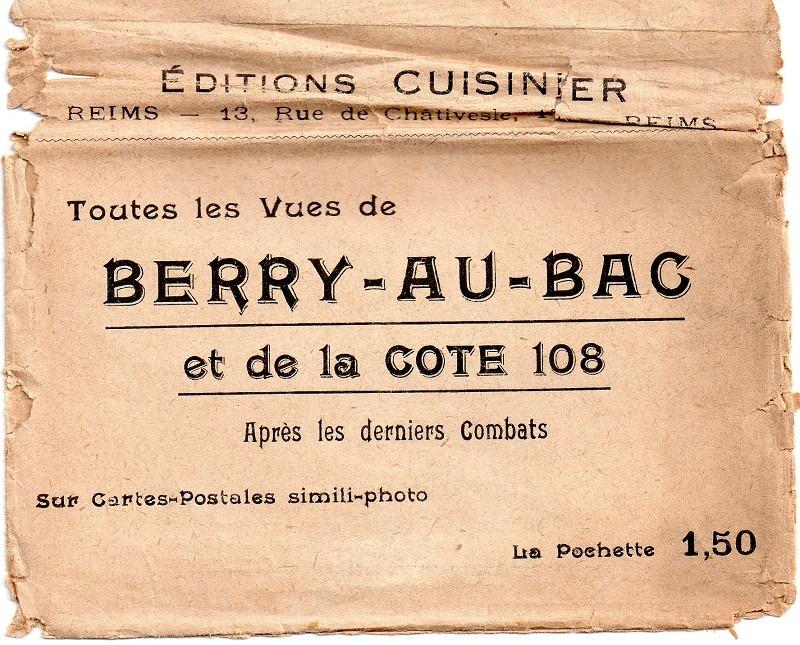 Cartes Postales  de Berry-au-Bac et de la Cote 108 Img00910