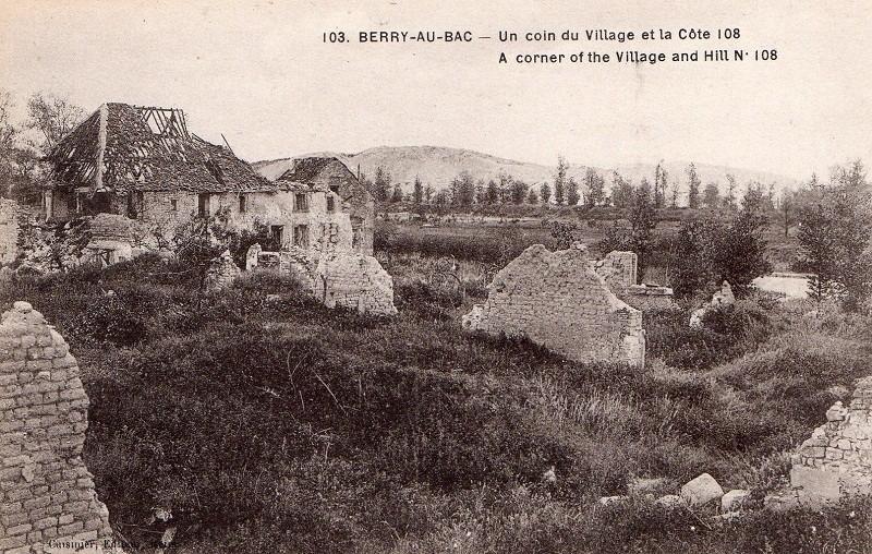 Cartes Postales  de Berry-au-Bac et de la Cote 108 Img01411