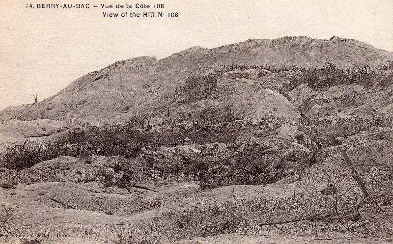 Cartes Postales  de Berry-au-Bac et de la Cote 108 Img01710