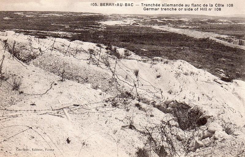 Cartes Postales  de Berry-au-Bac et de la Cote 108 Img01810