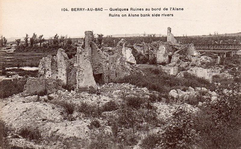 Cartes Postales  de Berry-au-Bac et de la Cote 108 Img01913